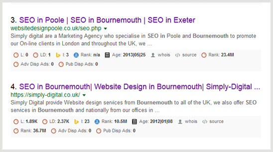 SEO in Bournemouth